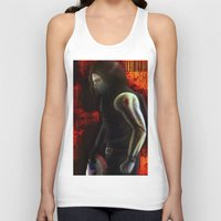 winter soldier Tank Tops featuring The Winter Soldier by ParallelPenguins