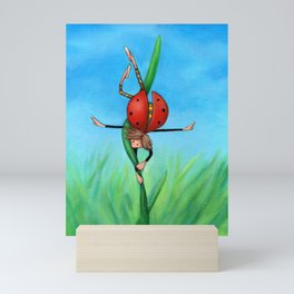 FANTASY: Joanne, the Acrobat Mini Art Print