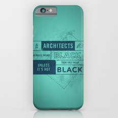 Architects wear black iPhone 6s Slim Case