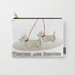 Westies are Besties 2 Carry-All Pouch