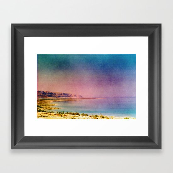 Dreamy Dead Sea IV Framed Art Print