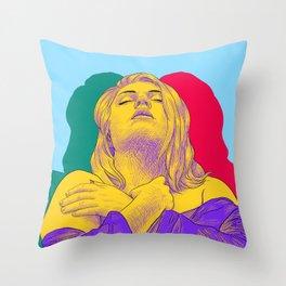 Keeping Strength Throw Pillow