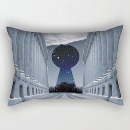 Keyhole to Infinity Rectangular Pillow
