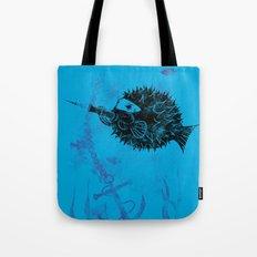 Blowgun Fish Tote Bag