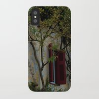 greek iPhone & iPod Cases featuring Greek Cottage by Upperleft Studios