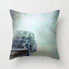 cloud car Throw Pillow