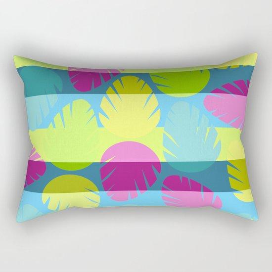 Tropical stripes II Rectangular Pillow