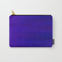 Ultra Violet to Indigo Blue Ombre Carry-All Pouch