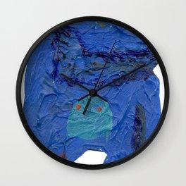 el monstro azul Wall Clock
