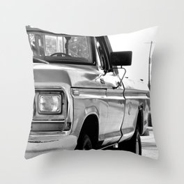 I Side With The Truck Throw Pillow