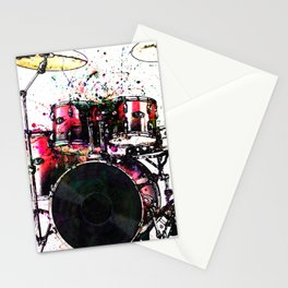 One Two Three Four Stationery Cards