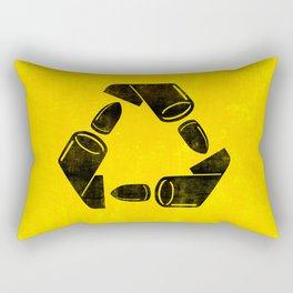 Neverending war Rectangular Pillow