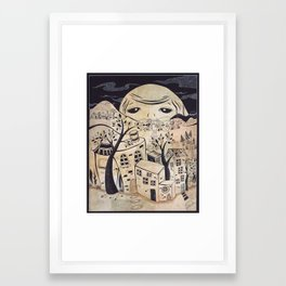 Recipe for Imagination City.... Framed Art Print