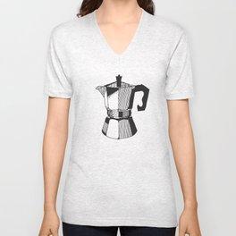 Some Like It Caffeinated Unisex V-Neck