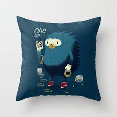 1 up! Throw Pillow