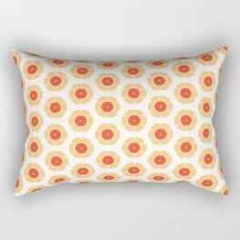 Geo Flower Rectangular Pillow