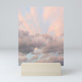 Milkshake Sky Mini Art Print