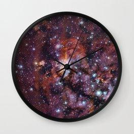 Prawn Nebula Wall Clock