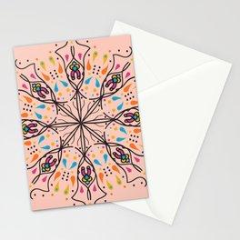 Phallic Mandala with a hint of Anus Stationery Cards