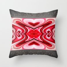 Noel Abstract Throw Pillow