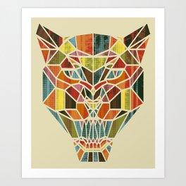 Holy Cat Art Print
