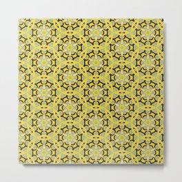 Colored Pencil Tile Metal Print