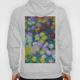 "Claude Monet ""Chrysanthemums"", 1897 Hoody"