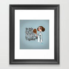 Stick Together Framed Art Print