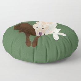 Labradors Floor Pillow