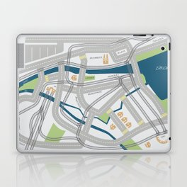 The Streets of Zurich Laptop & iPad Skin