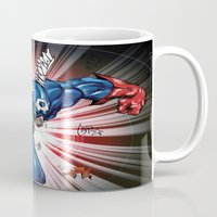 captain silva Mugs featuring Captain.... by wOlly