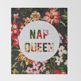 Nap Queen Throw Blanket