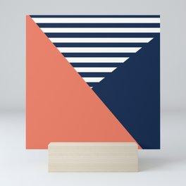 Three colors Mini Art Print