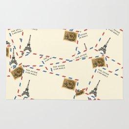Paris Envelopes Rug