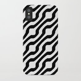 Marvin (black on white) iPhone Case