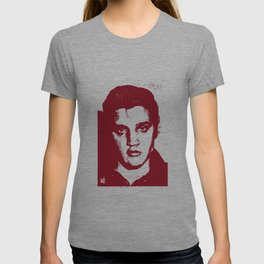 Elvis in Dogtooth T-shirt