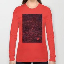 Man & Nature - The Dangerous Sea Long Sleeve T-shirt
