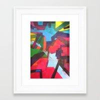 labyrinth Framed Art Prints featuring Labyrinth by fieltrovitz