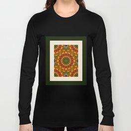 Abstract Spokes Long Sleeve T-shirt