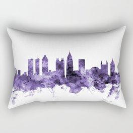 Atlanta Georgia Skyline Rectangular Pillow