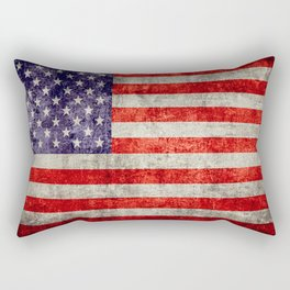Antique American Flag Rectangular Pillow