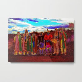 Pow Wow in Texas Metal Print