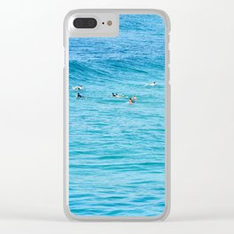Ten Men One Wave Clear iPhone Case