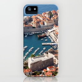 Old Town of Dubrovnik iPhone Case