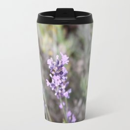 Lilac Flower Travel Mug