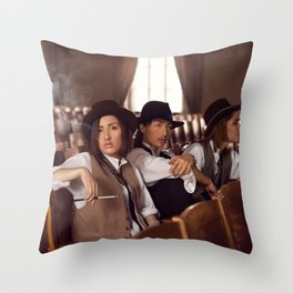 trio Throw Pillow