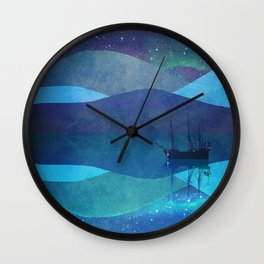 The North Pole Wall Clock