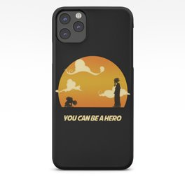 My Hero Sunset iPhone Case
