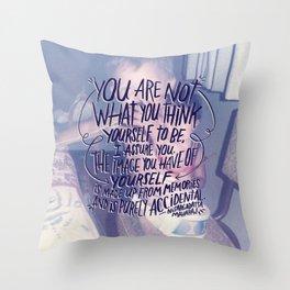 NISARGADATTA MAHARAJ Throw Pillow