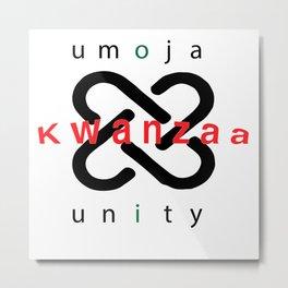 Umoja Kwanzaa Metal Print